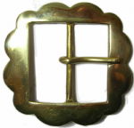 50mm Fancy Belt Buckle solid brass (2 inch) (BUC013)